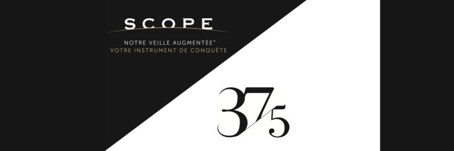 Scope® Veille Augmentée® et le réseau 37.5 concluent un accord de distribution exclusif