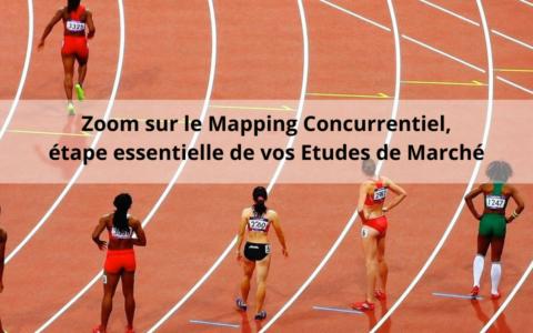 Zoom sur le mapping concurrentiel, cartographie des concurrents